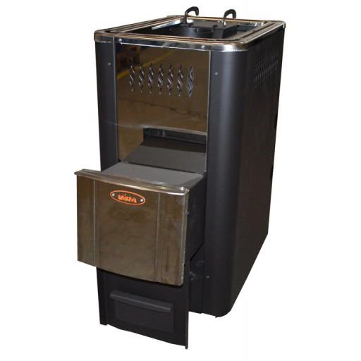 Банная печь Комфорт 18Т (закрытая каменка, теплообменник)1