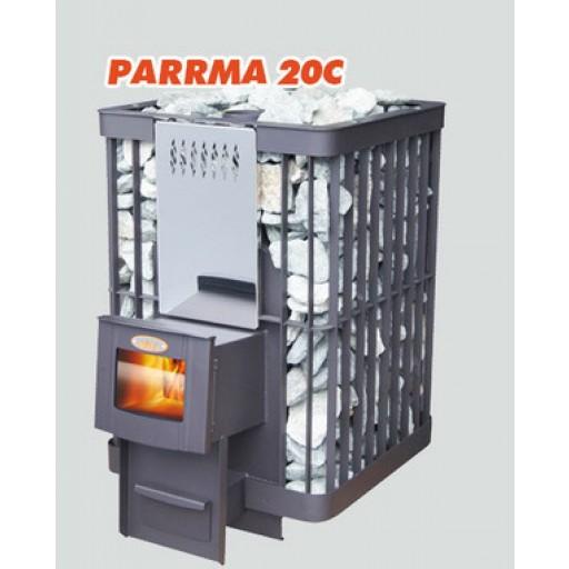 Банная печь PARRMA-20C (дверца со стеклом)