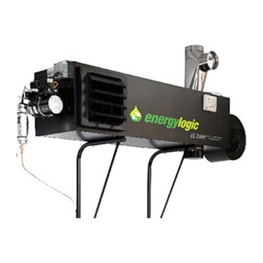 Теплогенератор стационарный ENERGYLOGIC EL-350H (102,5 кВт; 90-120С; 4740 м3/ч) (01350202)