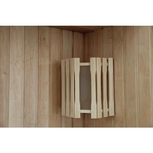 Абажур Doorwood угловой с одним стеклом