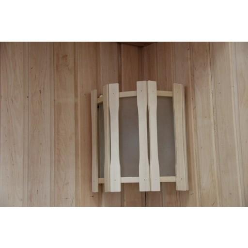 Абажур Doorwood угловой с тремя стеклами (АУ-3С)