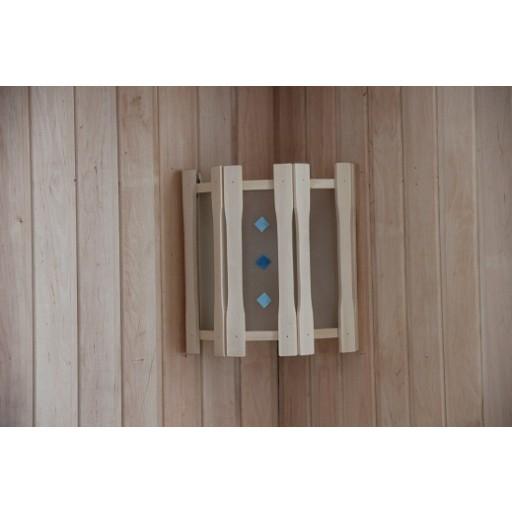 Абажур Doorwood прямой с тремя стеклами с вставками