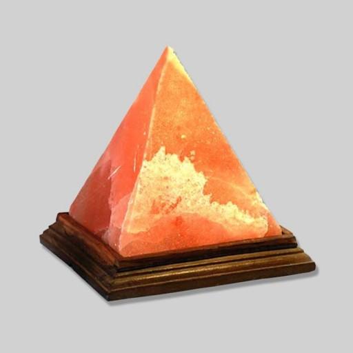 """Плафон """"ПИРАМИДА"""" (без электропроводки). Гималайская соль. 3,25 кг"""