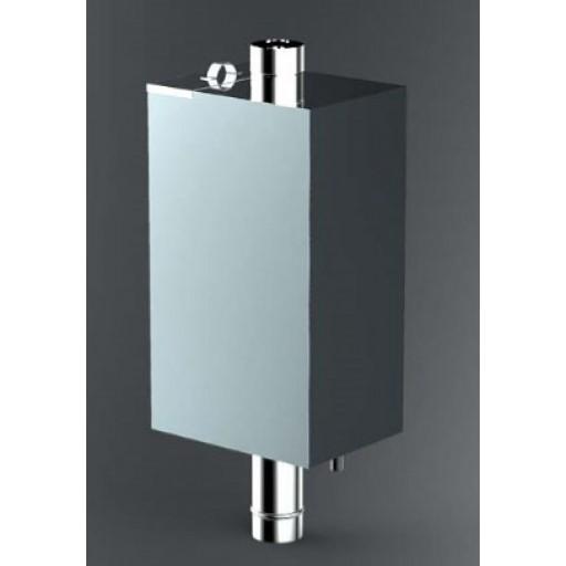 Бак для воды в баню 80 литров самоварного типа