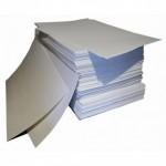 Лист базальтовый картон 1,0х0,5м толщина 6 мм
