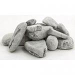 Камень для бани талькохлорит обвалованный, коробка 20 кг