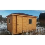 Бытовка-садовый домик 3х4 метра