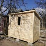 Хозблок 3х1,5 метра с окном (туалет, душ, хозблок)