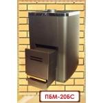 Банная печь ПБM 20 БС (Мета-бел) без стекла