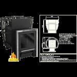 Банная печь ПБM 20С (Мета-бел)