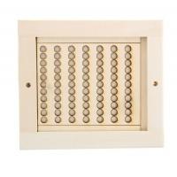 вентиляционная решетка для бани