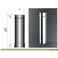 Дымоход (труба) 500 мм 304/1,0 мм