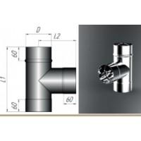 Тройник 90 градусов 430/0,5 мм