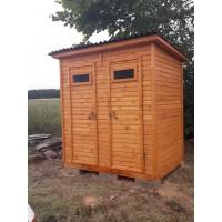 Дачный туалет-душ 2х1 м