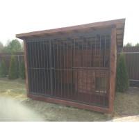 Вольер для собаки 2х3 метра с будкой