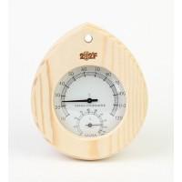 Термогигрометр капля (сосна). kd-113
